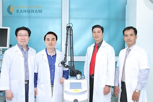 Đội ngũ bác sĩ uy tín Thẩm mỹ viện Kangnam 2