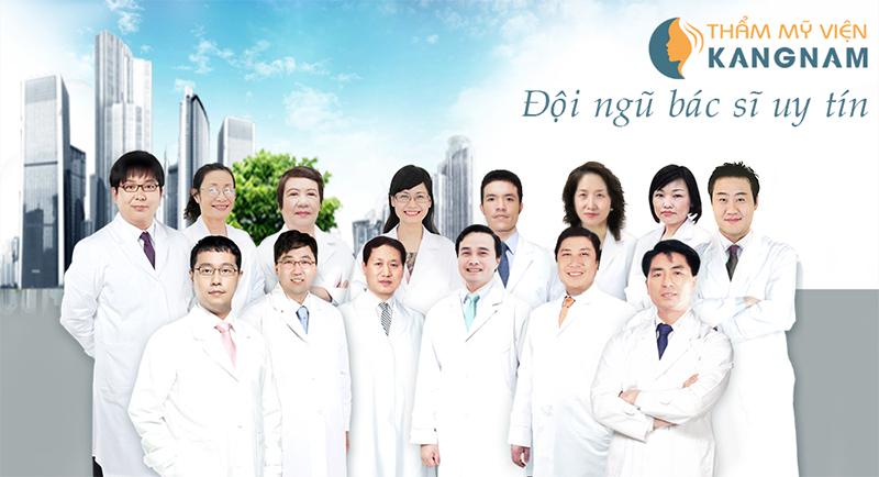 Đội ngũ bác sĩ điều trị nám da tại Kangnam giàu kinh nghiệm