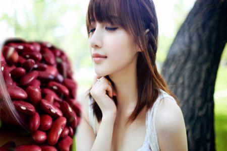 Bột đậu đỏ đắp mặt trị nám và làm trắng da