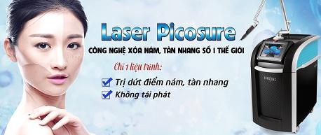 Laser Picosure - Công nghệ trị nám tận gốc TÂN TIẾN nhất 20181