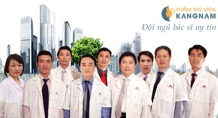 Đội ngũ bác sĩ uy tín Thẩm mỹ viện Kangnam 1