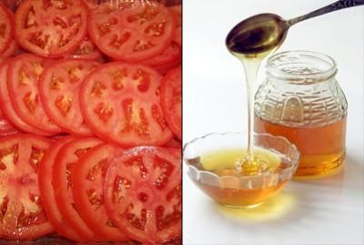 Bí quyết trị nám da bằng cà chua và mật ong