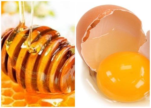 Trị nám da vùng miệng hiệu quả bằng trứng gà và mật ong