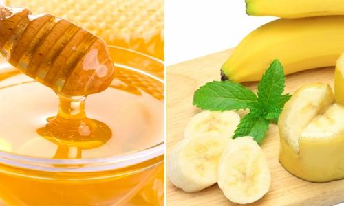Chữa nám quanh miệng bằng mật ong và chuối chín
